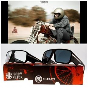 FILTRATE - HIPPY KILLER BLACK MATTE / CLEAR LENS