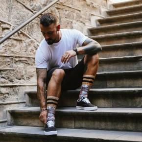 AMERICAN SOCKS- IMPALA MID HIGH