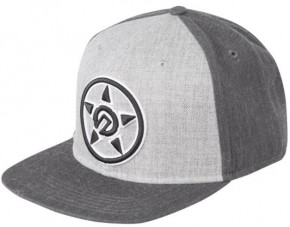UNIT - LEAD SNAPBACK CAP CHARCOAL