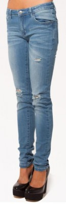 UNIT - LONGNIGHTS SKINNY LEG DENIM JEAN BLUE
