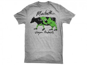 MACBETH - MOO TEE HEATHER GREY