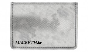 MACBETH - ADAMS WALLET LIGHT GREY ACID WASH