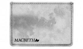 MACBETH - ADAMS WALLET LIGHT GREY ACID WASH
