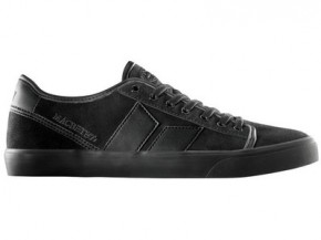MACBETH - JAMES BLACK-BLACK SUEDE/SYNTHETIC LEATHER SHOE