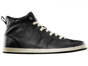 MACBETH - LONDON HIGH BLACK/CEMENT PREMIUM FULL GRAIN LEATHER