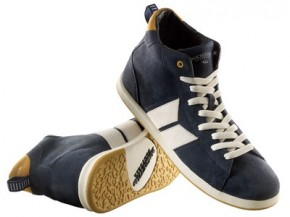 MACBETH - LONDON HIGH MIDNIGHT/OCHRE SUEDE