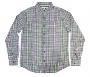 MACBETH - BARKER WOVEN SHIRT GREEN