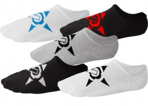 UNIT - NO SHOW SOCKS 5 PACK MULTI