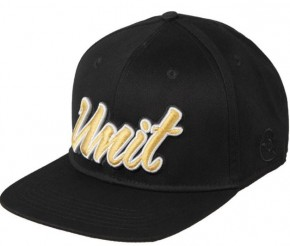 UNIT - RUTH 163 SNAPBACK CAP BLACK