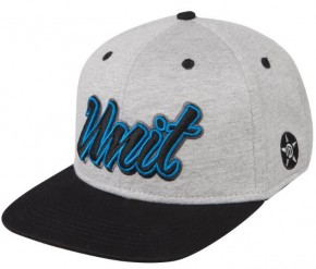 UNIT - RUTH 163 SNAPBACK CAP HEATHER GREY