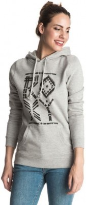 ROXY - TODD HOODIE MEDIUM GREY
