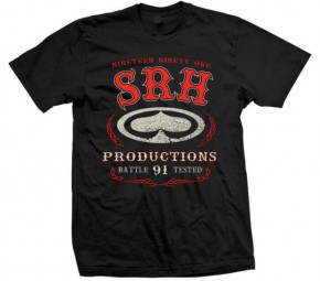 SRH - BATTLE TESTED TEE BLACK