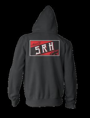 SRH - GRAND ZIP UP HOODIE BLACK