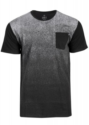 UNIT - FADED TEE BLACK