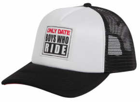 UNIT - ONLY DATE TRUCKER CAP WHITE