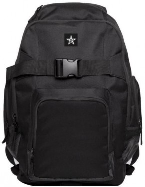 UNIT - RIDERS BACKPACK BLACK