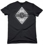 UNIT - DIAMONDS TEE BLACK