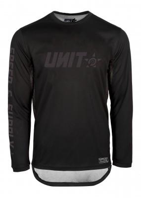 UNIT - FUSION MX JERSEY BLACK