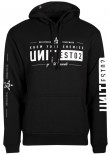 UNIT - DELEGATE HOODY BLACK