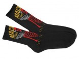 MACBETH - WORLD TOUR CREW SOCKS BLACK