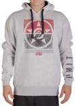 UNIT - SHUTTER HOODY GREY MARLE
