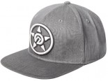 UNIT - SPARK IT SNAPBACK CAP GREY