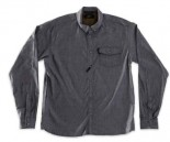 RED DRAGON - KENSINGTON L/S BUTTON UP CHARCOAL