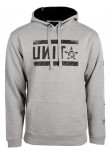 UNIT - PLATOON HOODY GREY MARLE