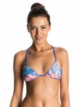 ROXY - MIX BLOSSOM BIKINI TOP ROYAL BLUE
