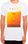 UNIT - FREE RIDE TEE WHITE