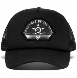 UNIT - FLIGHT TRUCKER CAP BLACK