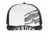SRH - CHECKED OUT FLIP SNAPBACK HAT BLACK