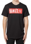 UNIT - BLOCKADE TEE BLACK