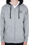 UNIT - ESSENTIAL HOODY GREY MARLE