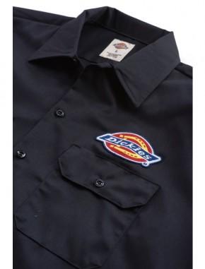 DICKIES - CLINTONDALE WORK SHIRT BLACK