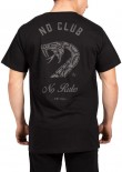 UNIT - NO CLUB NO RULES TEE BLACK