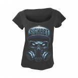 SICKRET - SKULL NEW GIRL TEE BLACK