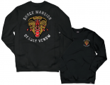 SHOCK MANSION - DEADLY VENOM PULLOVER BLACK