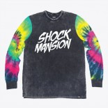 SHOCK MANSION - TRIPPY L/S TEE MULTI COLOUR