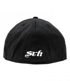 SRH - OG SPADED FITTED HAT BLACK
