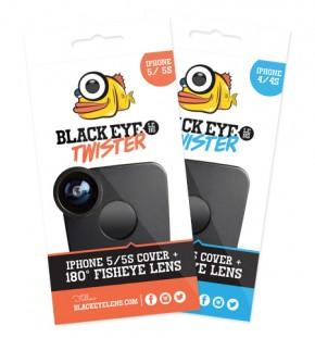 BLACK EYE LENS - TWISTER IPHONE4/4S
