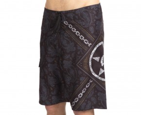 UNIT - OLD SKOOL BOARDSHORT BLACK